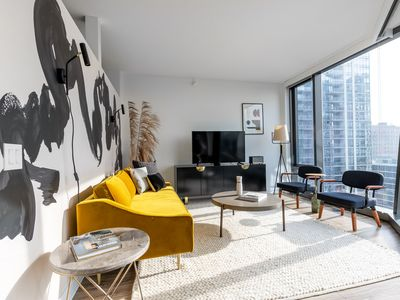 Photo for Practical South Loop Studio w/ Gym, Pool, W/D, near the L, by Blueground