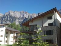 Nice apartments which were fully self contained.  Nice views from balcony of the ...