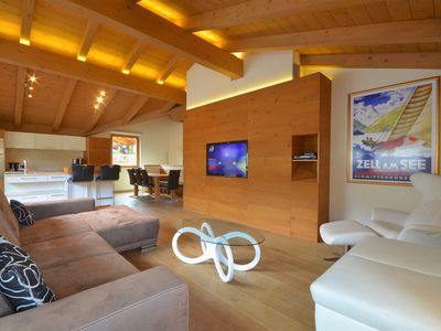 Photo for Apartment Diana - modern duplex penthouse, 200m to skilift, close to the Zeller Lake