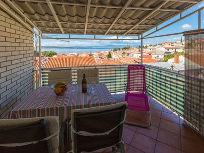 Photo for Nice apartment with sea view in Selce - Kvarner Bay