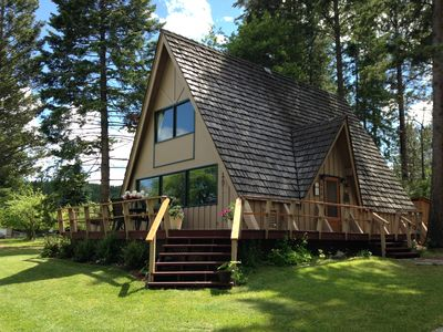 Photo for Flathead Lake / Stoner Creek, A-Frame Family Cabin