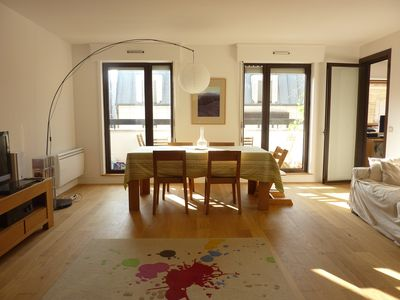 Photo for Large modern apartment 94 m 2 with balcony in Paris 12eme