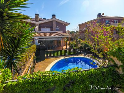 Photo for Offer July Accommodation Villa Moles near beach, Port Aventura and Golf