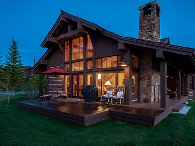 Photo for Silver Sage Cabin~Beautiful Cabin at Jackson Hole Golf & Tennis Club