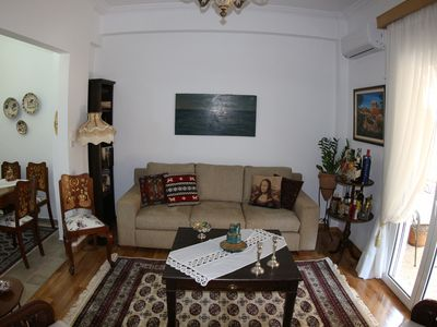 Photo for Athens Apartment is an authentic Greek apartment, completely renovated in 2019