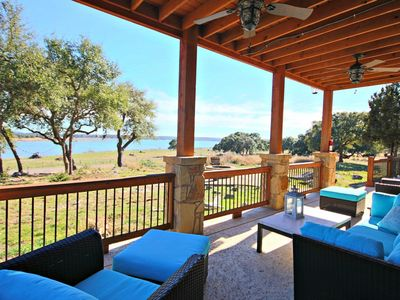 Photo for Wine Down Lake Escape- New Home with Stunning Lake Views, Sleeps 10!