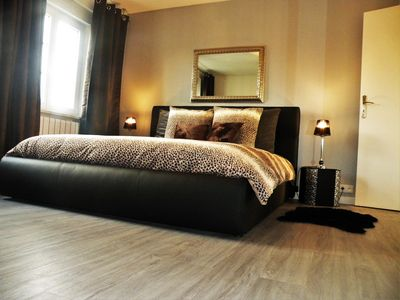 """Photo for Apartment """"HOME DESIGN"""" 86 m2 free parking in STRASBOURG"""