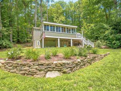 Photo for Winnipesaukee Water Access Home For 8 In Small Hermit Cove Community