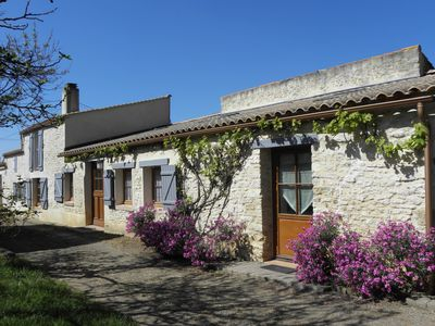 Photo for Stone house with garden, quiet, sea at 3 kms