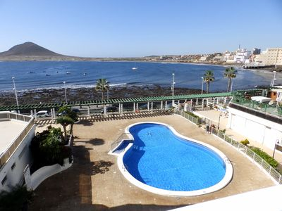 Photo for Nice Apartment with pool and magnific sea views in El Medano