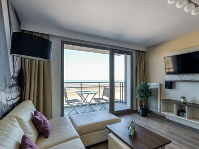 Photo for Modern appartment with balcony and georgeous sea view