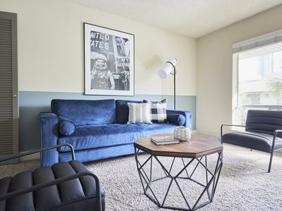 Photo for Central 2BR at The Galleria by Sonder