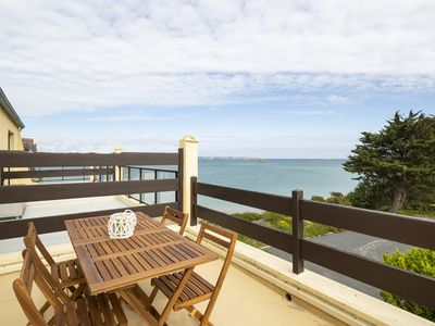 Photo for Duplex apartment - panoramic view - Saint Jacut de la Mer