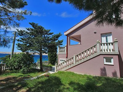 Photo for Directly on the beach with fantastic sea view and private sun terrace on the beach