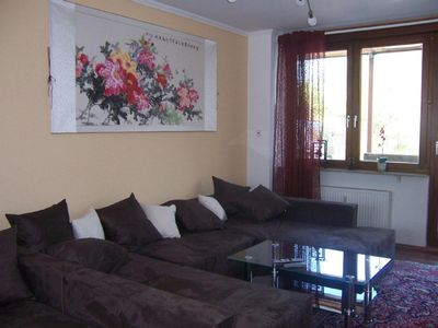Photo for Large apartment near Lake Constance, terrace / winter garden, centrally located