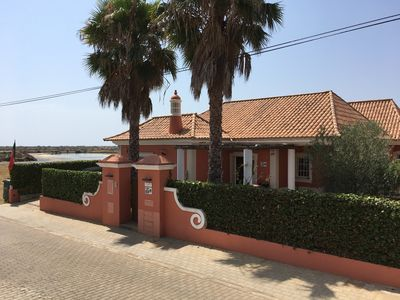 Photo for Exceptional panoramic villa on Ria formosa