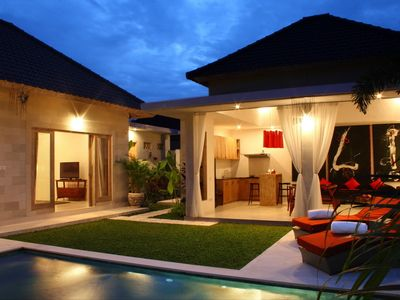 Photo for Very Modern, Beachside 2 Bedroom Villa, Batu Belig