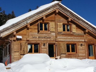 Photo for CHALET MOUNTAIN VIEW ON THE ARAVIS. The 3 stars