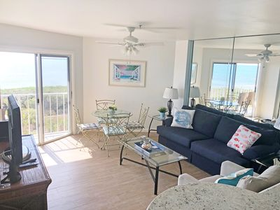 Photo for Need some Beach Therapy? Fabulous oceanfront 2/2 condo! Pool, beach, tennis