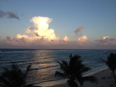 Photo for WYNDHAM REEF RESORT Beachfront Condo- TOP FLOOR/END UNIT/PRIVATE/QUIET/RELAXING!