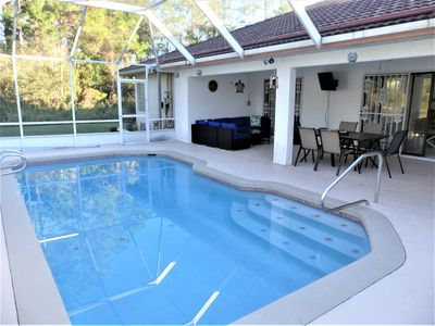 Photo for NEWLY LISTED! Spacious Heated Pool Home with Pool & Ping Pong Table