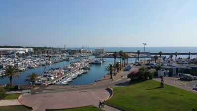 Photo for F2 BEAUTIFUL VIEW PORT AND SEA, 20 METERS BEACH