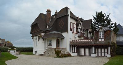Photo for DEAUVILLE Large Norman Villa with character, Sea View, 50 m from the beach.