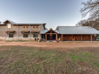 Photo for A Hunter's Dream: Gorgeous Hill Country Cabin for 6 with whitetails and views.