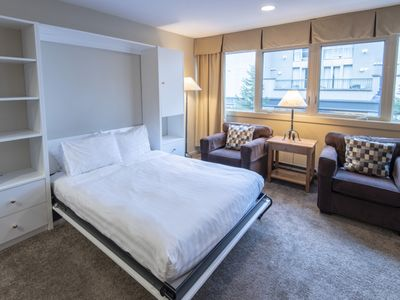 Photo for Be in the Village and Close to the Action at Village Gate House - Heart of Whistler Village - Studio w/Full Kitchen (Unit 209)