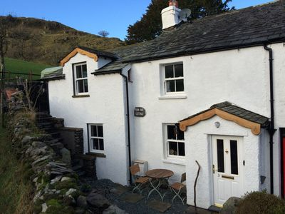 Photo for CHARACTERFUL LAKELAND COTTAGE  .  WIFI,SKY TV, LOG FIRES, PRETTY LOCATION.