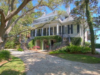 Photo for 6 Sea Oak - Oceanfront Luxury, Historic Southern Architecture in S. Forest Beach