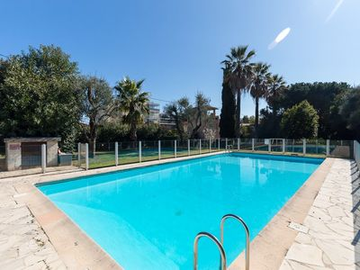 Photo for LA PALMERAIE - Nice 3 rooms in a standing residence with swimming pool