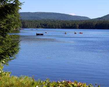 Photo for Gilmanton vacation cottage rental with 200 ft. water frontage on Crystal Lake,