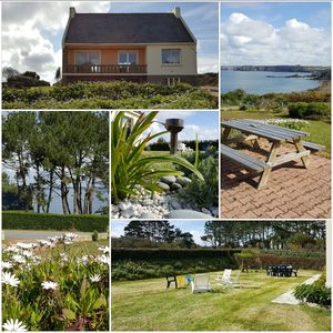 Photo for House 4/6 pers.  Panoramic view SEA.  peninsula CROZON - CAMARET / SEA
