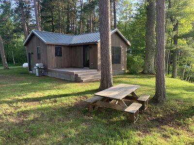 Photo for NEWLY RENOVATED Nordic Modern Cabin on Silverthorn Lake in Seeley, WI.