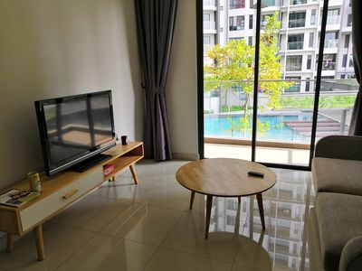 Photo for A Pool View Luxurious Apartment @UNIV360 Place