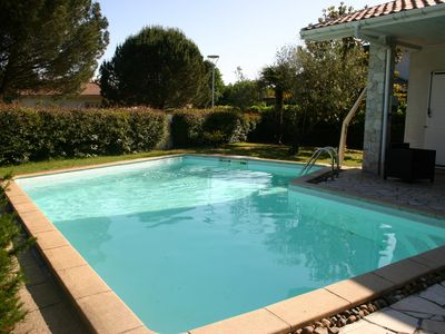 Photo for Beautiful villa for 11, swimming pool, air conditioning, Wifi 3 kms from the beaches