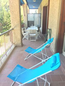 Photo for Pleasant T3 air-conditioned with terrace, ideally located 300m beach, parking, wifi