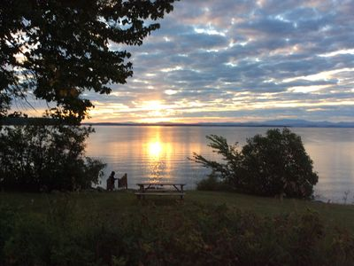 Photo for Sleeps 12 ~ On Lake Champlain in Valcour