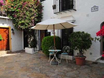 Photo for Cozy Andalusian house in the center of the Golf Valley 5 minutes from Puerto Banús