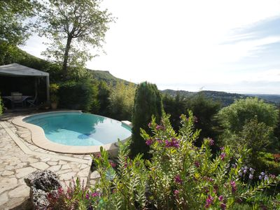 Photo for SPECIAL OFFER 25%  24-31 Aug-Beautiful villa, pool, panoramic views, peaceful,