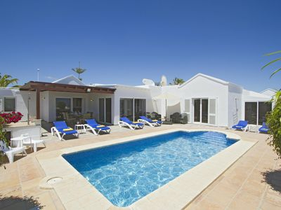 Photo for Stunning Villa Isabelle, Private Pool, Superb Location, Free WiFi, A/C, Sky TV