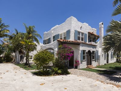Photo for Expansive, Luxurious 1920's WPB Estate - Sleeps 17
