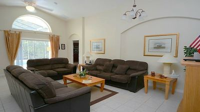 Photo for Budget Getaway - Cumbrian Lakes - Amazing Relaxing 4 Beds 3 Baths Villa - 7 Miles To Disney