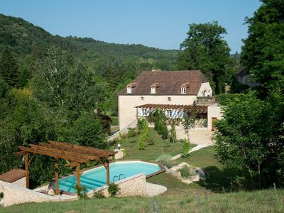 Photo for HOUSE OF CEDAR, BEAUTIFUL STONE HOUSE IN DORDOGNE.