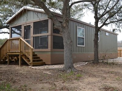Photo for Quiet, private & safe two cottage development located in the heart of Matagorda