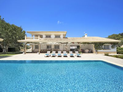 Photo for Spectacular luxury big Villa El Tosalet, heated pool, Wifi, billiard room, garage