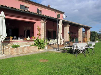 Photo for 5 bedroom Villa, sleeps 10 in Sant Angelo with WiFi