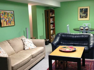 Photo for Cheerful, comfortable home in green, quiet area 15 min from Washington DC