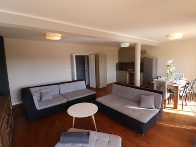Photo for MODERN apartment with STYLE, 150m to the beach